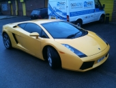 Lamborghini Gallardo Window Tinting