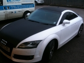 Audi TT Carbon Fibre Roof Wrap