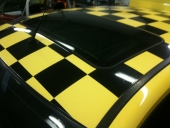 Fiat Punto Checkered Roof